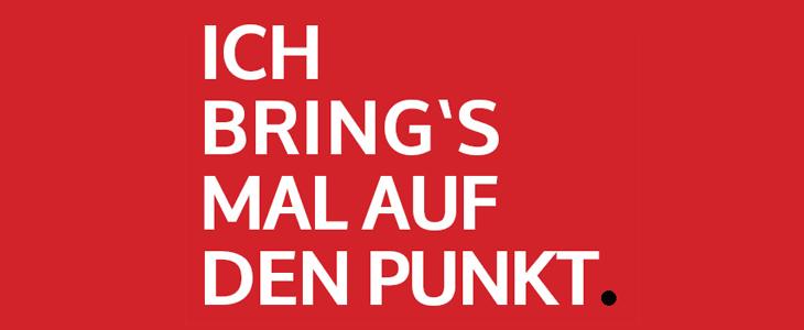 Bild commov.de | Artikel Ich brings mal auf den Punkt